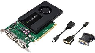 Pny Quadro K2000d グラフィックカード。2 GB Gddr5 Sdram。Pci Express 2.0 X16。フル。高さ3840 X 2160。ファンクーラー。Directx 11.0、Directcompute 5.0、O...