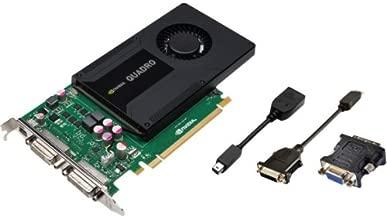 Pny Quadro K2000d Graphic Card . 2 Gb Gddr5 Sdram . Pci Express 2.0 X16 . Full. Height . 3840 X 2160 . Fan Cooler . Directx 11.0, Directcompute 5.0, Opengl 4.3, Opencl . Displayport . Dvi