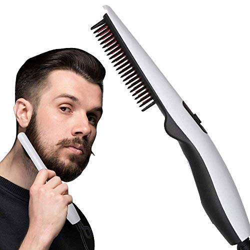 BELIONERA™ Quick Hair Styling Straightening Comb Beard Straighter for Men and Women