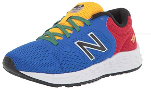 New Balance Arishi V2 - Zapatillas de correr para niños, Turquesa (Cobalto/Equipo Rojo), 37 EU
