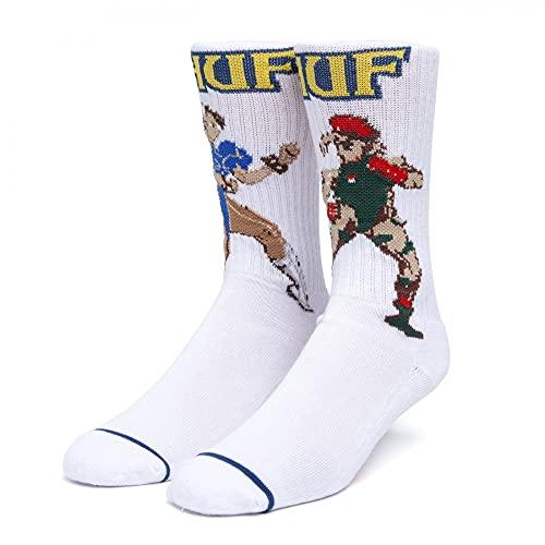 HUF Chun-Li und Cammy Socks - White - One Size