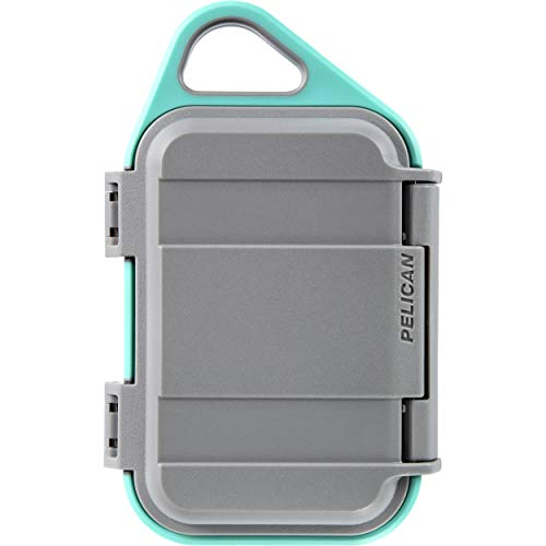 Pelican G10 Personal Utility Go Case (Slate/Teal) [並行輸入品]