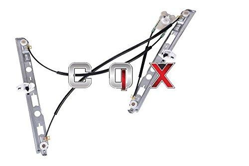 CQX Lève-vitre Avant Droit Megane II Coupe(2002-2008) pour 2 Portes 8200325137 Non Cabriolet