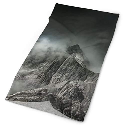 Pengyong montaña niebla cumbre unisex moda secado rápido microfibra tocado al aire libre mágica bufanda cuello bufanda bufanda con capucha super suave mango