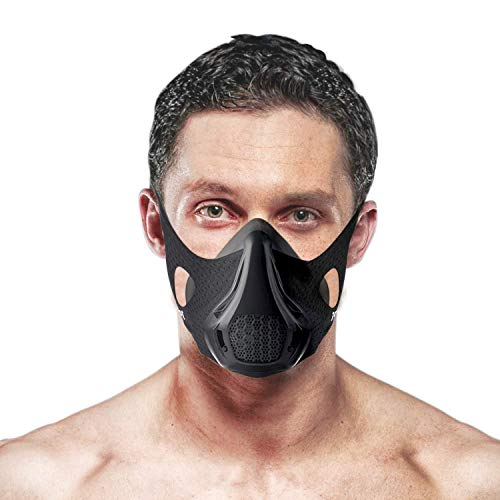 DLKondls Workout Mask - High Altitude Elevation Simulation - for Gym, Cardio, Fitness, Running, Endurance and HIIT Training [24 Breathing Levels]