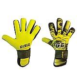 Gisix Guantes de portero Superfly 2.0 Fluo Yellow G068 Talla 8
