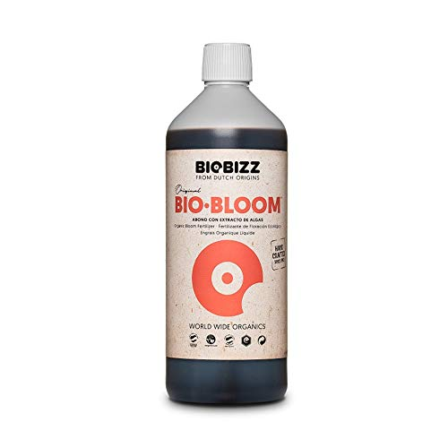 Biobizz BIO-BLOOM, 1 Liter Grow Dünger für z.B. Grow in Growbox, Growschrank