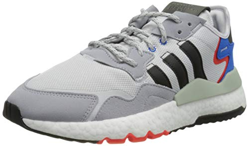 adidas Nite Jogger, Zapatillas para Correr Hombre, Dash Grey Core Black Halo Silver, 42 EU