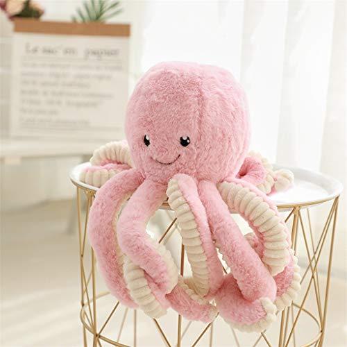Cartoon Mood Octopus PlüSchtier,Krake Aus PlüSch, SüßEs Meerestier, Spielzeug Weiches PlüSchkissen (B-40CM)