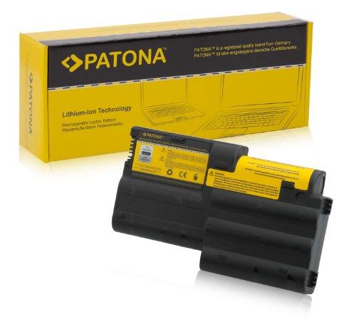PATONA Batterie adapté pour Laptop/Notebook IBM Thinkpad T30 Li-ION, 4400mAh, Noir