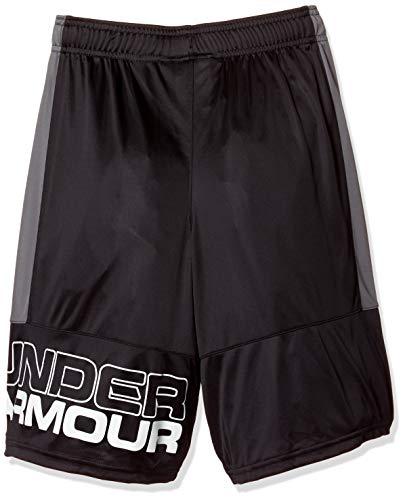 ドーム アンダーアーマー ジュニアスポーツウェア パンツ ボトム 18S UA STUNT SHORT 1299989 0AS ボーイズ BLK GPH WHT