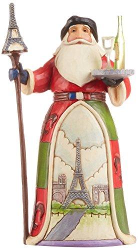 Jim Shore for Enesco Jim Shore Heartwood Creek French Santa Stone Resin Figurine