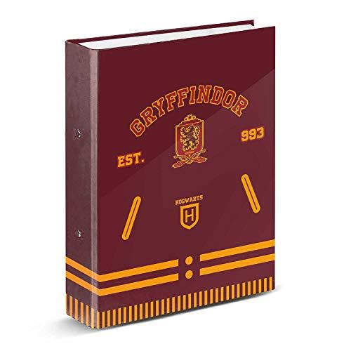 KARACTERMANIA 00755 Harry Potter Varsity-Carpeta Anillas