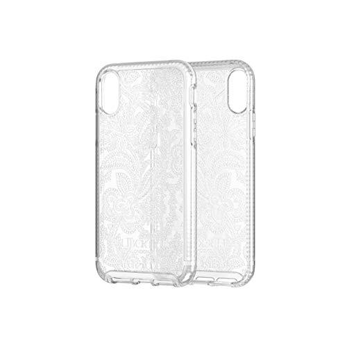 tech21 Pure Design Liberty Grosvenor Phone Case for iPhone XR - Clear, T21-6529 Alaska