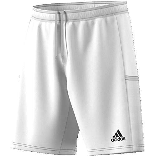 Adidas T19 KN SHO M, Pantaloncini Sportivi Uomo, Bianco (White), S
