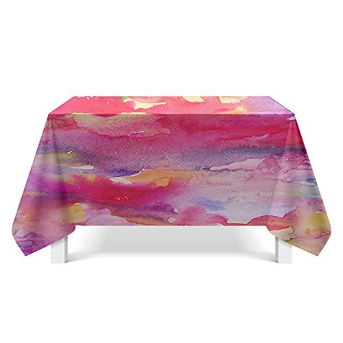 YDyun Transpirable, Aislamiento Térmico, Restaurante,Cocina, Cafetería, Mantel de Jardín Textura de Color