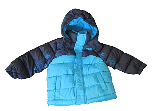 Minus Zero Boy's Blue Winter Coat with Hood, Sz. 10/12