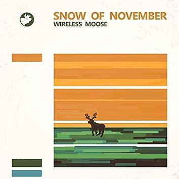 Snow of November