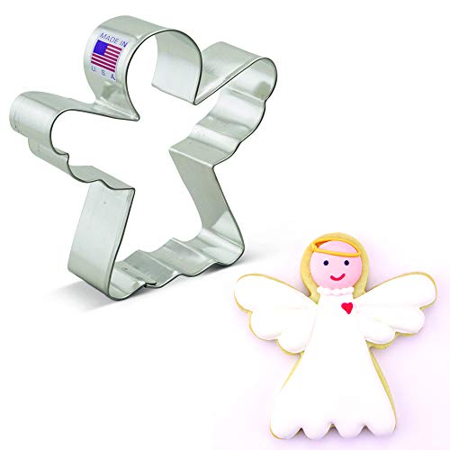 Ann Clark Cookie Cutters Angel Cookie Cutter, 3.75'