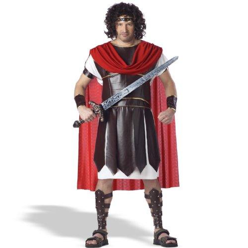 Hercules California Costumes 01621 - Disfraz de Dios Romano Hercules para los Hombres Talla Plus 4XL - 5XL