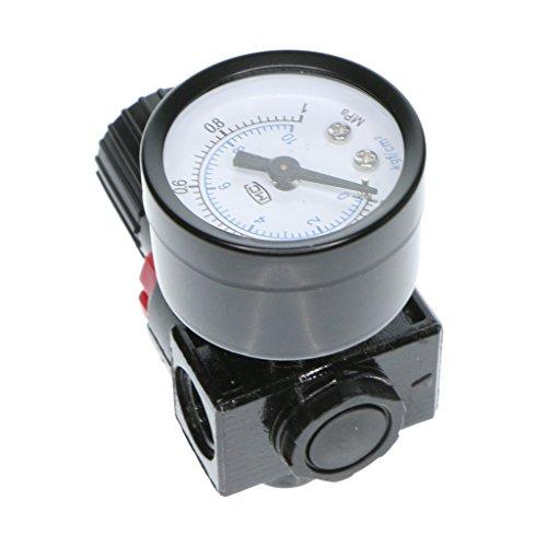 MagiDeal Filtro de Aceite Separador de Agua Regulador de Presión de Aire Herramienta Neumática AR2000