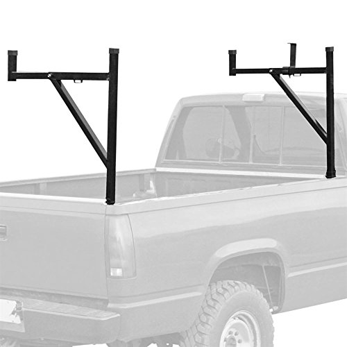 utility rack for trucks Apex TLR Pickup Truck Ladder Rack with Removable Support Arms - 250 lb Cap