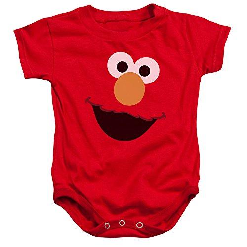 Sesame Street - Barboteuse - Bébé (garçon) - Rouge - 24 Mois