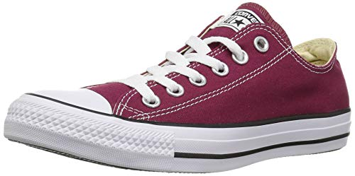 CONVERSE Chuck Taylor All Star Seasonal Ox, Unisex-Erwachsene Sneakers, Rot (Bordeaux), 42 EU