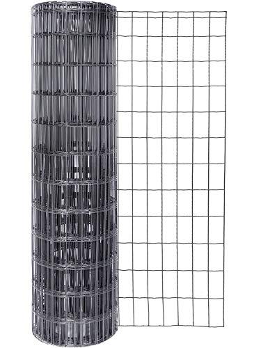 GAH-Alberts 605025 Schweißgitter Fix-Clip Pro® | verschiedene Längen und Höhen - wahlweise in verschiedenen Farben | anthrazit-metallic | Höhe 81 cm | Länge 10 m