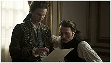 A Royal Affair Mads Mikkelsen as Johann and Mikkel Boe Følsgaard as Christian Reading 8 x 10 inch photo