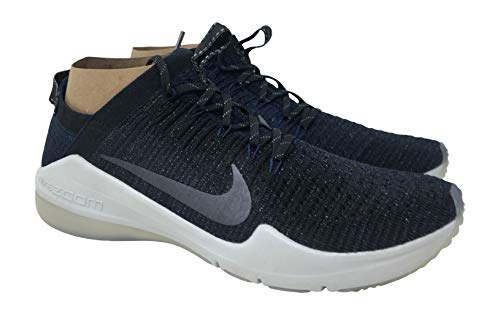 Nike Air Zoom Fearless Flyknit 2 Training Women's Sneaker, College Navy/Metallic Armory Navy, 10 M US