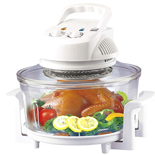 Heißluftofen Kombikocher Heissluftgrill mit Umluft Heissluft-Mikrowelle Elektrogrill Backofen für Gemüse, Fleisch, Pommes und vieles mehr.