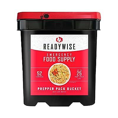 ReadyWise Emergency Food Supply Bucket   25-Year Shelf Life