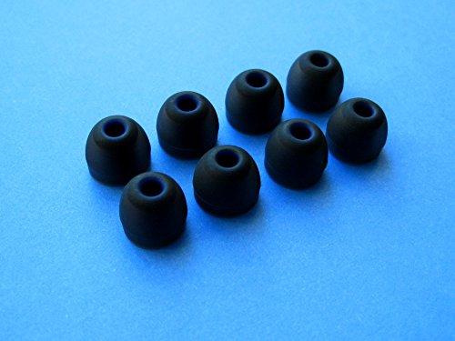 8 Stück (B)- Medium (M) Ersatz Ohrstöpsel Ohreinsätze Set für Jaybird Bluebuds X Premium Bluetooth In Ear Ohrhörer/Kopfhörer
