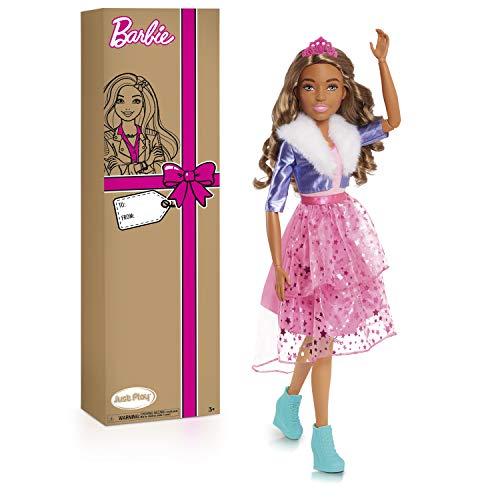 Barbie 28-Inch Best Fashion Friend Princess Adventure Doll, Brown Hair