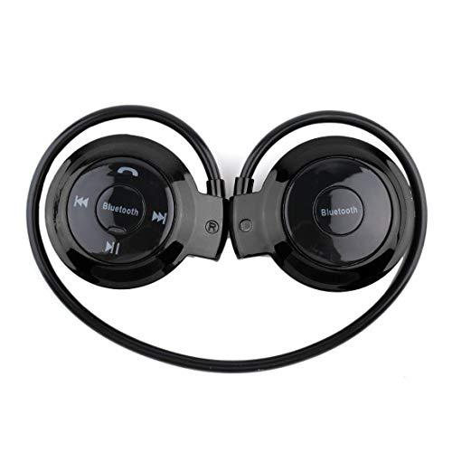 SeniorMar MINI503 Gancho para la Oreja Mini Auriculares Deportivos inalámbricos Hi-Fi Manos Libres Auriculares estéreo Auriculares Tarjeta TF para Reproductor MP3