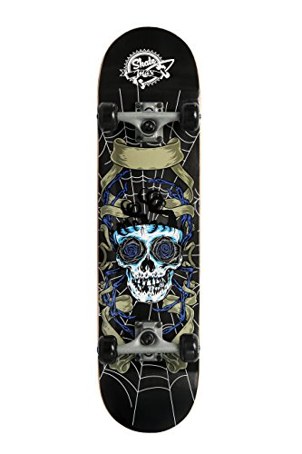 My Area Skatemax Skateboard Senior, Skull