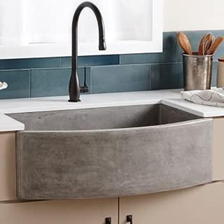 Native Trails NativeStone NSKQ3320 Farmhouse Single Bowl Quartet Kitchen Sink