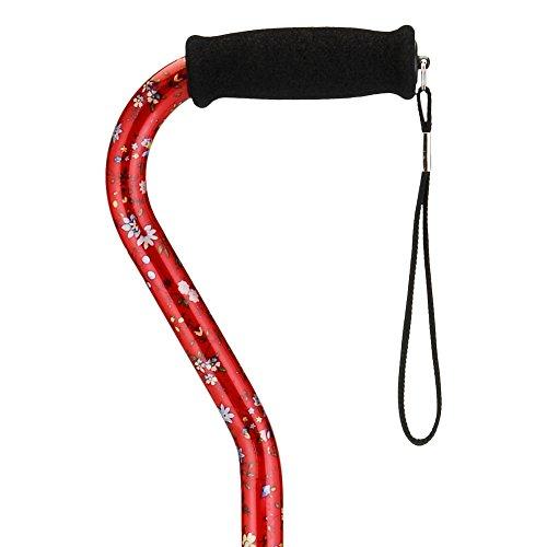 4. NOVA Medical Designer Walking Cane with Offset Handle
