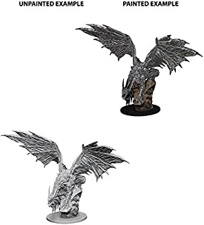 WizKids Pathfinder Roleplaying Game Unpainted Miniatures: Silver Dragon