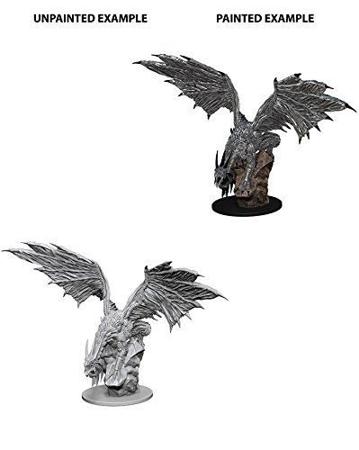 Wizkids Silver Dragon Pathfinder Deep Cuts Unpainted Miniatures