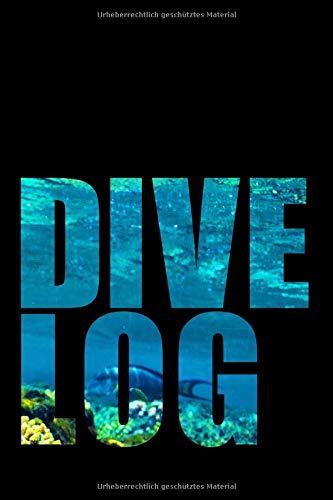 Dive Log: Logbuch Tauchen A5 | Tauchbuch...