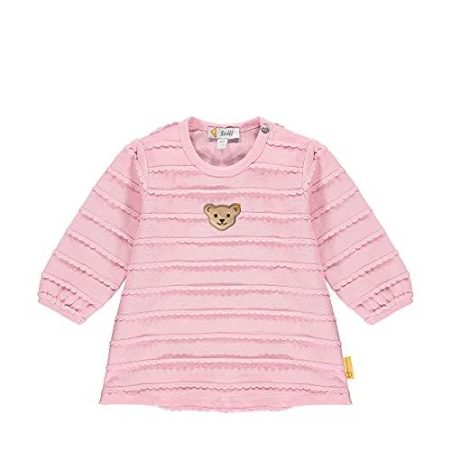 Steiff Longsleeve Camiseta, Rosa Nectar, 18 Meses para Bebés