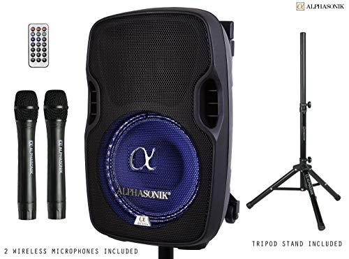 best dj speakers Alphasonik