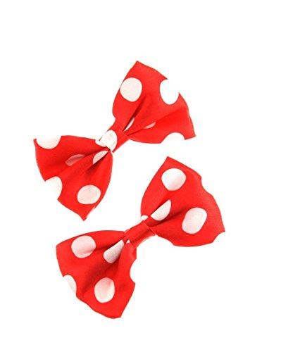 Zac Alter Ego ® Grand Rouge Nœud et sequins sur bandeau-Parfait Pour Noël