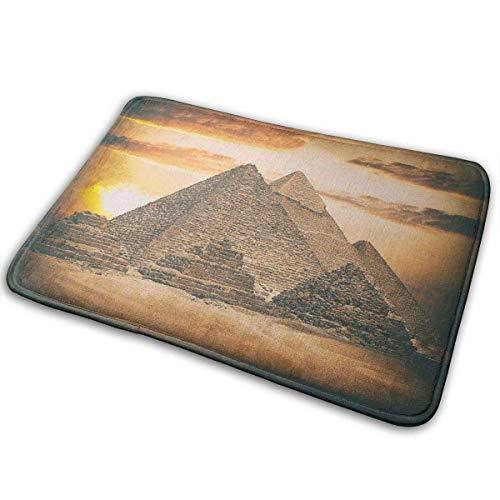 Funny Z Alfombra de baño de Espuma viscoelástica con Gran pirámide egipcia...