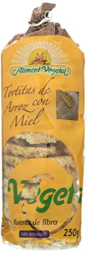 TORTITAS ARROZ CON MIEL 250 gr