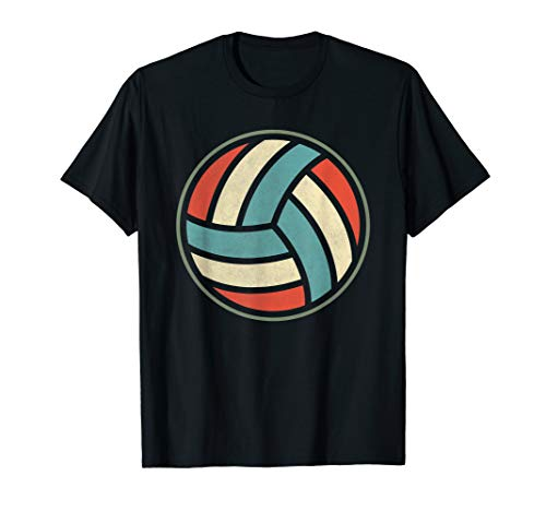 Retro Volleyball | Volleyball-Spieler Team T-Shirt