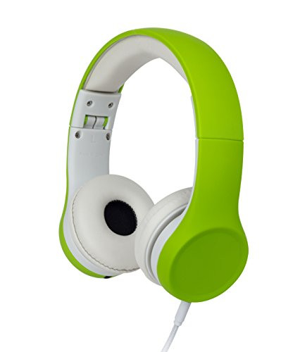 top 10 toddler headphones SnugPlay + Kids headphones with volume control and sound sharing connection (green)