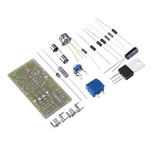 Accesorios electrónicos Thyristor DC Lámpara de atenuación del módulo de la lámpara de atenuación DIY Kit DE PRODUCCION ELECTRÓNICA PCB Kit de Placa de Circuito Partes electronicas